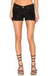 James Jeans Shorty Boyfriend Short Destroyed Black