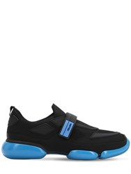 Prada Cloudbust Mesh Sneakers Black Blue