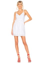 Bcbgeneration Ruffle Dress White