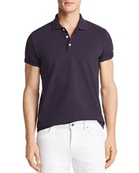 Bloomingdale's The Men's Store At Pique Short Sleeve Polo Shirt Royal Blue