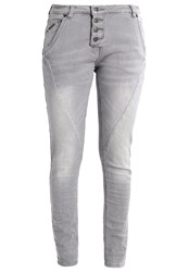 Opus Levy Relaxed Fit Jeans Grey Washed Silver