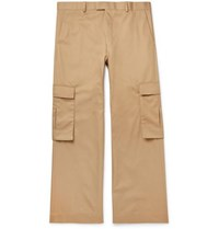 Martine Rose Twill Cargo Trousers Beige