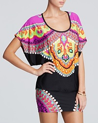 Trina Turk Nuevo Sol Tunic Swim Cover Up