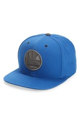 Men's Mitchell And Ness 'Golden State Warriors' Team Logo Snapback Cap
