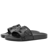 Gucci Pursuit Gg Slide Black