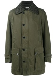 Dries Van Noten Verny Military Parka Green