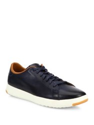 Cole Haan Sports Leather Oxfords Blazer Blue