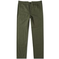 Oliver Spencer Drawstring Trouser Green