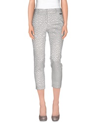 Blugirl Blumarine Casual Pants Light Grey