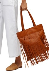 Warehouse Fringe Shopper Tan