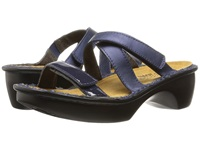 Naot Footwear Quito Polar Sea Leather Navy Patent Leather Women's Shoes Blue