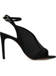 Jean Michel Cazabat 'Olympe' Stiletto Sandals Black