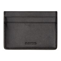 Jil Sander Black Credit Card Holder