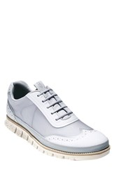 Men's Cole Haan 'Zerogrand' Wingtip Sneaker Storm Cloud