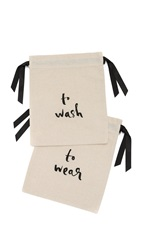 Kate Spade To Wash And To Wear Travel Bag Set Black
