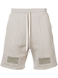 John Elliott Casual Drawstring Shorts Nude And Neutrals