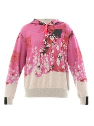 Preen Splash Print Hooded Sweatshirt