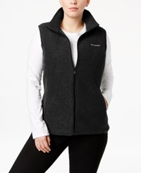 Columbia Plus Size Benton Springs Fleece Vest Black