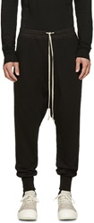 Rick Owens Black Lounge Pants