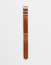 Asos Interchangeable Watch Strap In Brown
