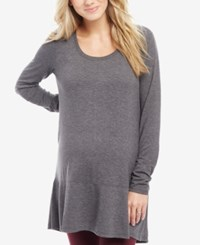 Motherhood Maternity Ruffle Hem Tunic Beetle