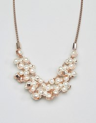 Coast Pearl Necklace Rose Gold Pink