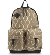 Undercover Chain Link Printed Backpack Beige