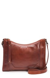 Frye Melissa Leather Crossbody Bag Red Red Clay