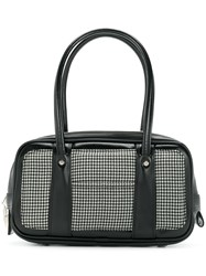 Comme Des Garcons Casual Design Tote Bag Black