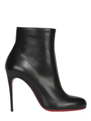 Christian Louboutin 100Mm Fifi Shiny Calfskin Ankle Boots