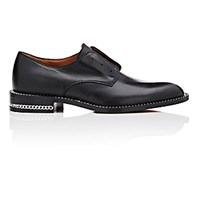 Givenchy Women's Chain Trimmed Laceless Derbys Black