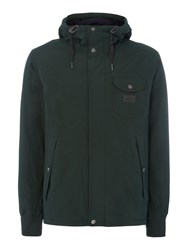 Lee Hooded Jacket Dark Green