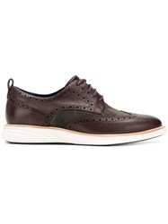 Cole Haan Grand Evolution Shortwing Oxford Shoes Brown
