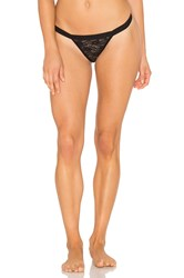 Cosabella Bisou Adore Allover G String Black