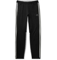 Adidas Consortium Missoni Tech Jersey And Space Dyed Stretch Knit Sweatpants Black