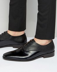 Kg By Kurt Geiger Barkar Leather Oxford Shoes Black