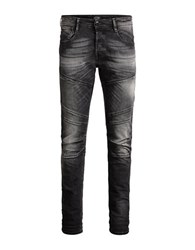 Jack And Jones Glenn Jax Comfort Slim Fit Jeans Black