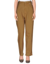 Golden Goose Denim Denim Trousers Women Camel