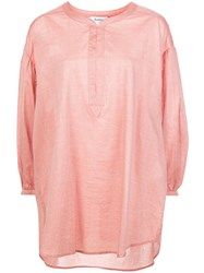 Rodebjer Cropped Sleeve Tunic Pink