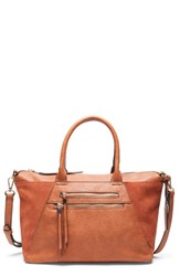 Sole Society Chele Tote Brown Cognac