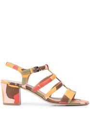 Laurence Dacade Abstract Print Sandals 60