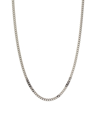 Cheap Monday Chain Necklace Silver