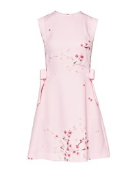 Ted Baker Seella Blossom Tunic With Side Bow Light Pink