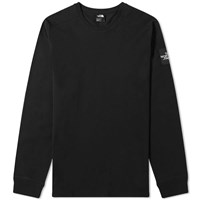The North Face Long Sleeve Fine 2 Tee Black