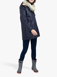Joules Rainaway Waterproof Rain Coat Marine Navy