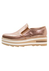 Zinda Brisa Slipons Rose Rose Gold