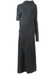 Y 3 'Versa Lg' Dress Grey