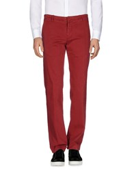 Reporter Casual Pants Red