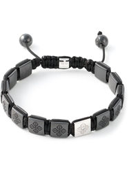 Shamballa Jewels 'Lock' Bracelet Black