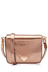 Alexander Wang Metallic Leather Mini Shoulder Bag Rose